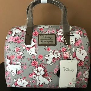 Loungefly Disney Aristocats Marie Floral Purse